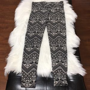 Leggings Aztec design size S